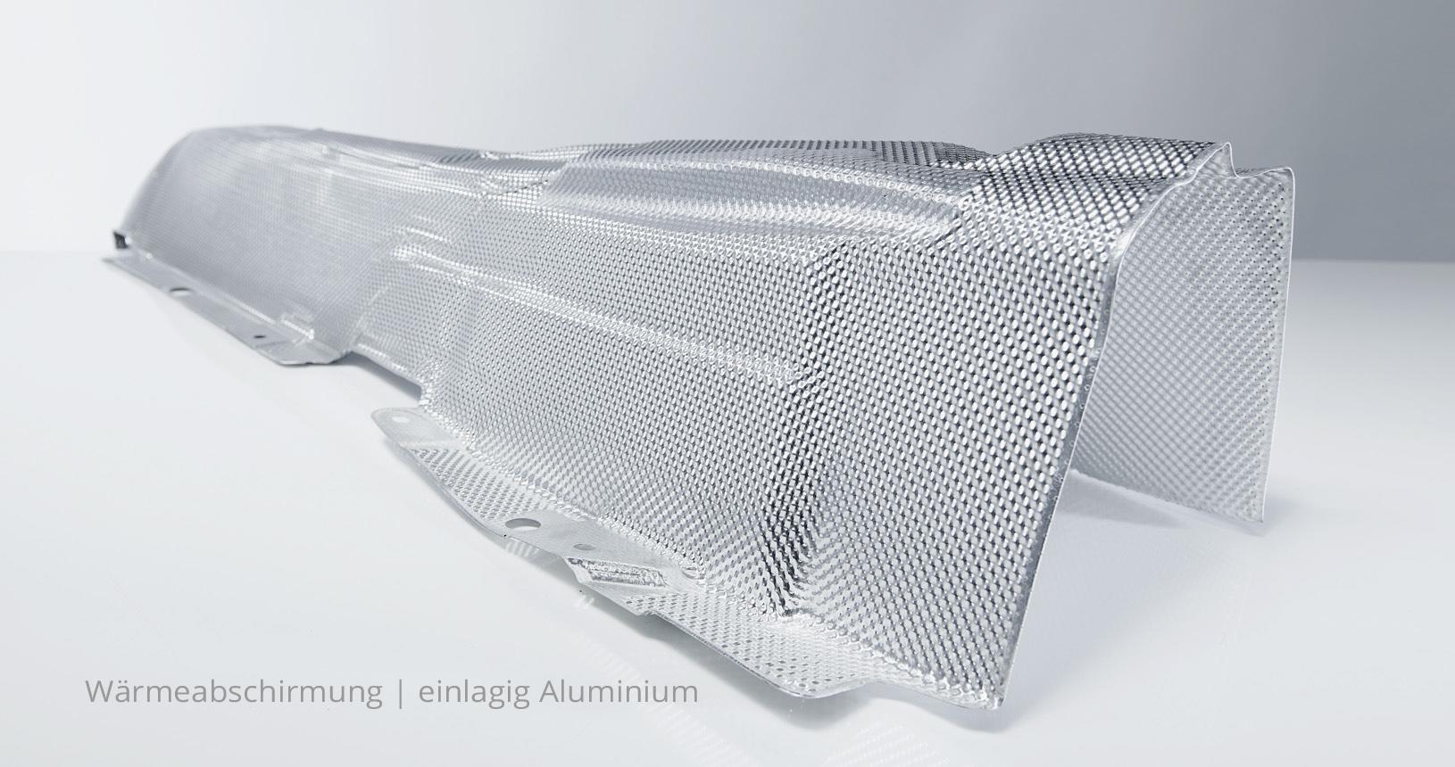 Hitzeschild Aluminium Wärmeabschirmung 2