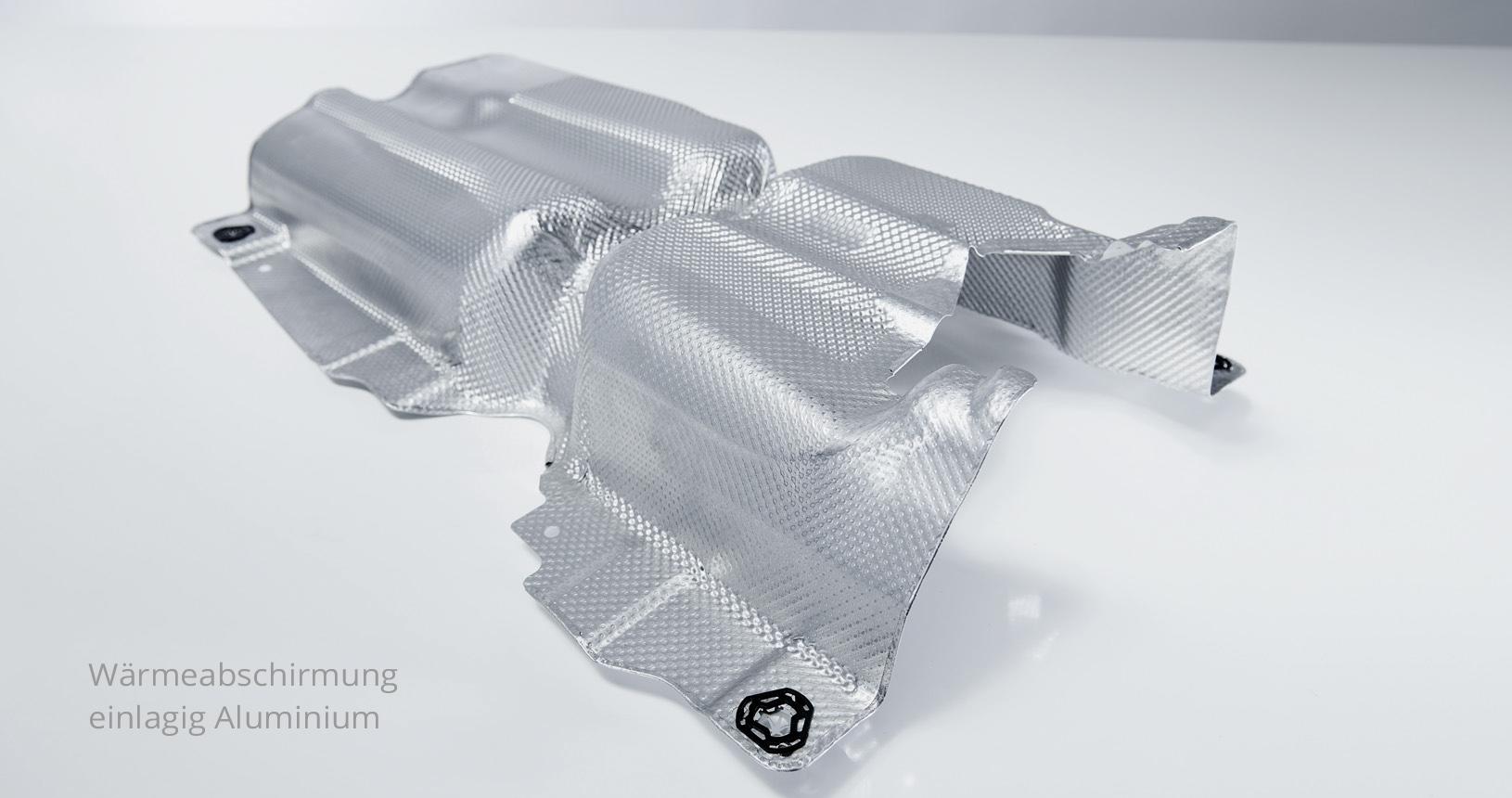 Hitzeschild Aluminium Wärmeabschirmung 3