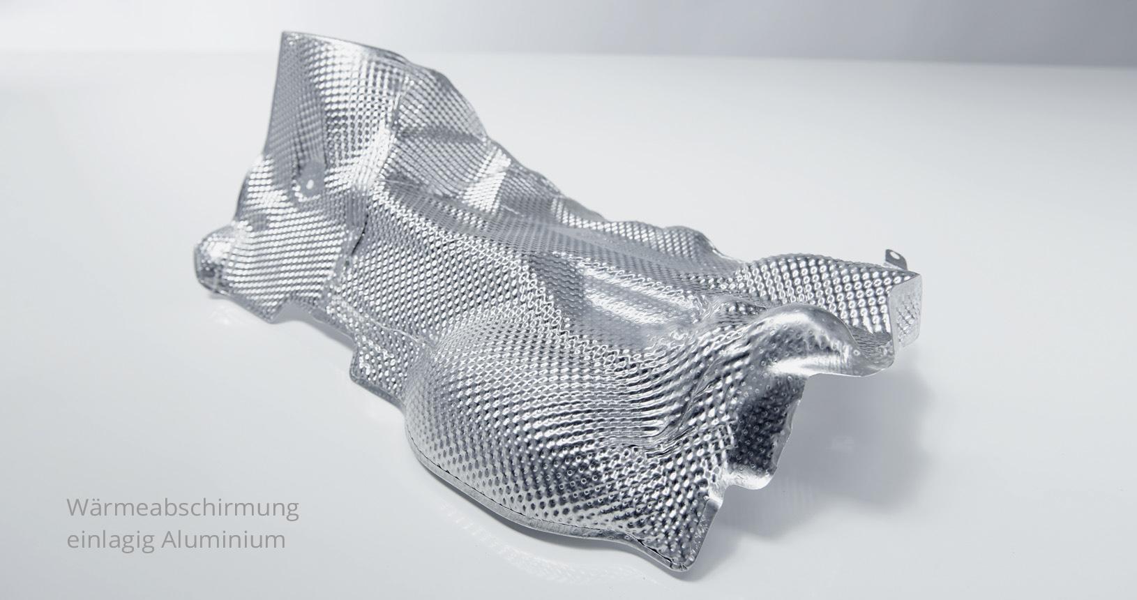 Hitzeschild Aluminium Wärmeabschirmung 4